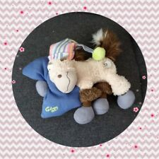 Peluche Doudou Diddl Cheval Galupy Berceuse musical Mécanique coussin TBE 20cm