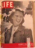 Life Magazine Library Bound 1949 Nov-Dec Fashion_Richardo Montalban_Iron Curtain