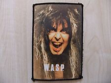 W.A.S.P. - Blackie Lawless - PVC Plastic - Aufnäher - Patch - Running Wild