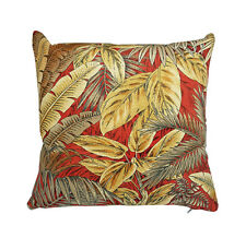 Authentic Tommy Bahama Golden Palms Leaf 45cm Indoor Cushion Cover