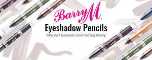 Barry M waterproof eyeshadow pencil - New & Sealed-  Please Choose Shade