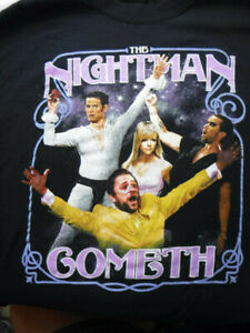 It's Always Sunny In Philadelphia Nightman Cometh Black Large  T-shirt