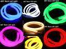 360° Round LED Neon Rope Light Flex Tube DIY Sign In/Outdoor Decor 110V 10ft