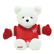 2016 Kmart K Mart Christmas Santa Bear Red Jacket Stuffed Animal Collectable