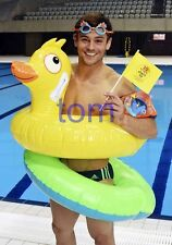 TOM DALEY #1380,BARECHESTED,SHIRTLESS,candid photo