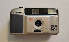 Olympus Trip MD3 35mm Point & Shoot Film Camera *TESTED*