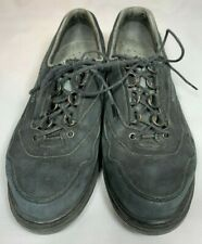 Mephisto Womens Holiday Walking Shoes Black Suede Size 8