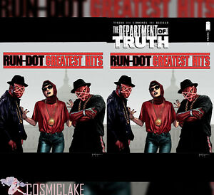 Department Of Truth #12 Hip Hop Variant Run-DMC Mico 300 Print Run Preorder ☪