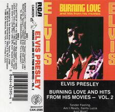 Elvis Presley Burning Love Cassette