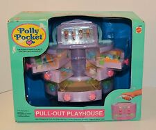 1992 Bluebird Polly Pocket * PULL-OUT PLAYHOUSE/Beauty Case VINTAGE * In BOX/MIB