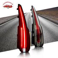 Pair LED Tail Lights Rear Brake for Chevrolet Tahoe Suburban 2015-2020 5.3L V8