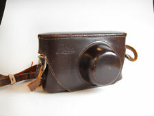 Eveready Case for Leica lllg Camera, Brown Leather ENOOR
