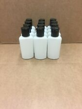 Empty Plastic 12-3oz/90ml Squeeze Bottles with DiscTop-Travel/Purse TSA Approved