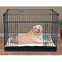 Double Sliding Doors Dog Crate/Cage