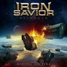 IRON SAVIOR - REFORGED-RIDING ON FIRE - Digipak-2CD - 884860193429