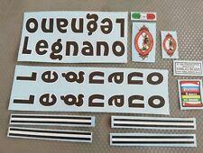 Kit adesivi compatibili Legnano Competizione Black old decal
