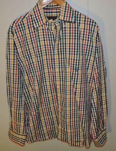 Men's Paul & Shark Button Down Shirt Size 41/ 16 Large