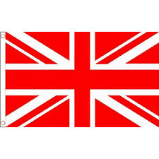 Union Jack Red Large Flag 8Ft X 5Ft Football Rugby Sports Banner With 2 Eyelets