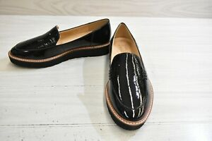 Naturalizer Andie Patent Leather Loafers, Women's Size 8.5 W, Black NEW
