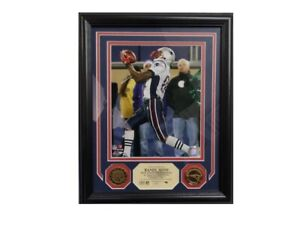 Randy Moss Single Season Touchdown Reception Record Limited Edition Plaque