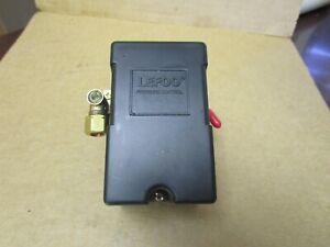 NEW LEFOO AIR COMPRESSOR PRESSURE SWITCH CONTROL MODEL LF10 95-125 PSI