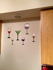 Red Wine Custom Vinyl Art Kitchen Home Decor Wall Decal Stickers Free Shipping