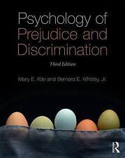 Psychology of Prejudice and Discrimination by Mary E. Kite and Bernard E.,...