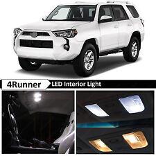 15x White Interior LED Lights Package Kit for 2010-2016 Toyota 4Runner + TOOL