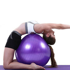 "New Balance Yoga Fitness 85cm Gym Exercise 33"" Inflatable Ball w/ Air Pump"