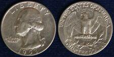 STATI UNITI/USA QUARTER DOLLAR DOLLARO $ WASHINGTON 1953 ARGENTO/SILVER #5943