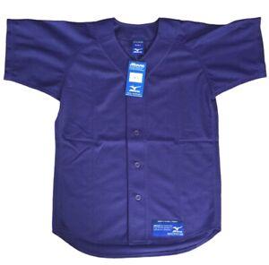 Mizuno Purple Youth Large Button Down Baseball Shirt