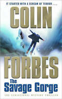 The Savage Gorge by Colin Forbes (Paperback) New Book