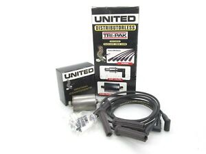 NEW United Tune-Up Kit Spark Plug Wires PCV & Fuel Filter 4-7422 GM 2.5 i4 89-92