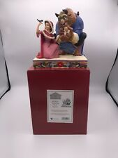 More details for disney traditions beauty & the beast something there f4039073 signed