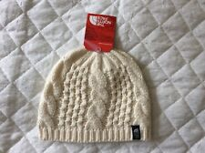 ac6b93b332c5b3 Womens The North Face Vintage White Cable Beanie Toque Hat OSFA Tag Nf8