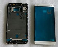 LCD marco Bezel frame carcasa cáscara cover housing pantalla htc one m7 802w dual