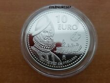 10 EURO ESPAÑA SPAIN SPANIEN 2011 - FRANCISCO DE ORELLANA - PLATA SILVER SILBER