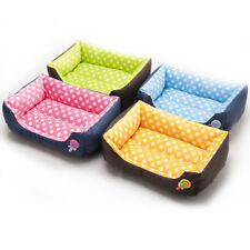 1PC Dog Cat Bed Kennel Puppy Cushion Mat Soft Warm Washable Pet House