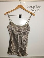 Carolyn Taylor Singlet, Size 10, Brand New with tags