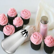 Mini Cake Cupcake Decorating Tips Drop Flower Icing Piping Nozzle Pastry Tool