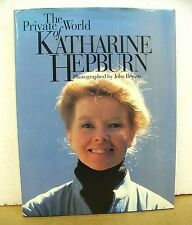 The Private World of Katharine Hepburn by John Bryson *Signed by Katharine*