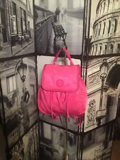 Small Scout Nylon Backpack Pink Tory burch