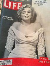 Life Magazine - April 7, 1952 ~~ Marilyn Monroe