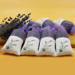 AU Moth Repellent Scent Sachets Air Fresh Aroma Dry Unique Lavender