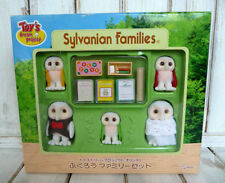 Rare Sylvanian Families DREAM PROJECT Ltd White Owl family W/Box HTF Japan Epoch