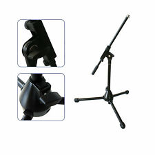 Short/Small/Mini Microphone Boom Stand-Bass Drum Guitar Amp Recording Holder Mic