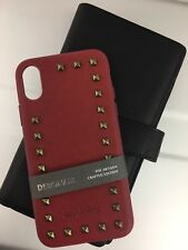 Santa Barbara POLO & RACQUET CLUB iPhone X/XS TPU/PU Case Design-Rouge