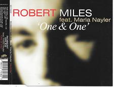 ROBERT MILES ft MARIA NAYLER - One & One CDM 6TR Italo House 1996 (NEC) BENELUX