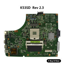 For Asus K53SD Laptop Motherboard Intel A53E K53E Rev 2.3 Main Baord USB 3.0