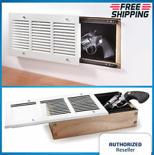 Concealed Wall Air Vent Storage Safe Secret Hidden Gun Jewelry Container Box